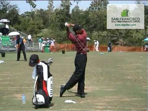 Amazing Footage of Tiger Woods 2000 Bangkok Complete Day 4 Warm-Up Routine uncut