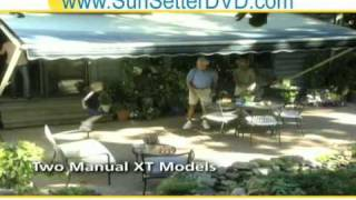 Retractable Sunsetter Awnings Oregon - Sun Deck Covers
