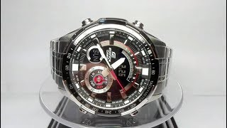 Casio Edifice ERA-600D-1AVUEF watch video Module 5499