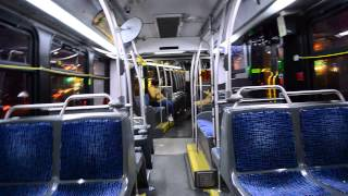 On-Board 2010 NovaBus LFS Articulated 1280 On The M15 +Select Bus Service+