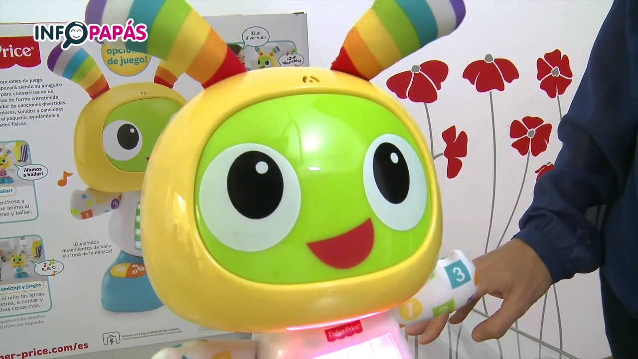 Robot Robi Fisher Price Infopapas Desempaquetado Youtube