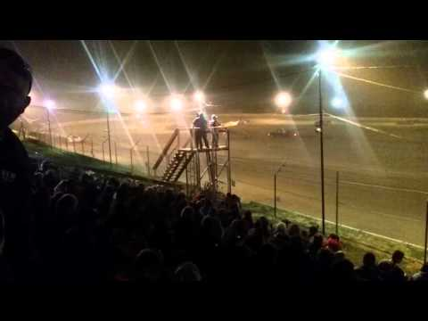 Indiana Late Model Feature part 1/2  Chandler Motor Speedway