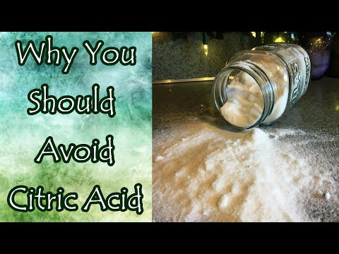 Citric Acid and Why You May Want to Avoid It
