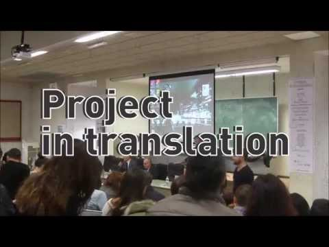 Project in Translation // guestlesson