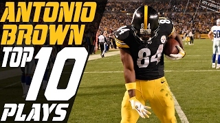 Antonio Brown's Top 10 Plays of the 2016 Season | NFL Highlights