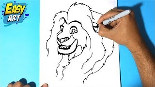 Como dibujar a simba - Como dibujar al rey leon -  Draw simba lion king - how to draw lion king(Este video te ayudara a dibujar facil y rapido,Como dibujar al rey leon, Draw simba lion king,how to draw lion king, dibujar a simba del rey leon, the lion king, ..., 2014-12-24T19:53:40.000Z)