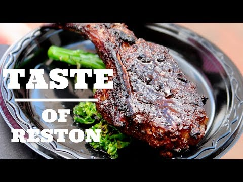 Taste Of Reston food festival!
