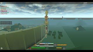 Roblox | Angriff auf Titan Beta | DIE TITAN TOWER TUMBLES!!