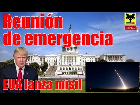 Reunión de emergencia en la Casa Blanca, Estados Unidos Lanza misil balístico intercontinental