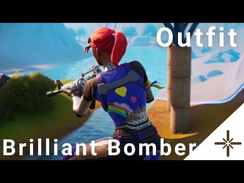 Brilliant Bomber Fortnite Skin Gameplay