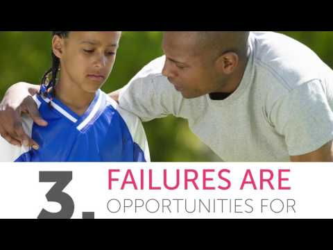 5 Ways To Help Your Child Succeed Through Failure