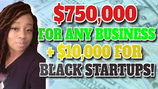Hurry! Small Business Grants Up to $750,000 for Everyone and $10,000 Grants For Black Startups