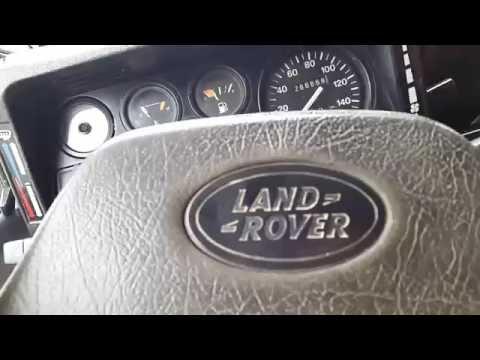 Senas geras Land Rover bekelės džipas