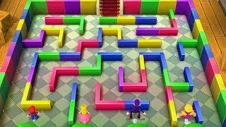 Mario Party Series - All Maze Minigames