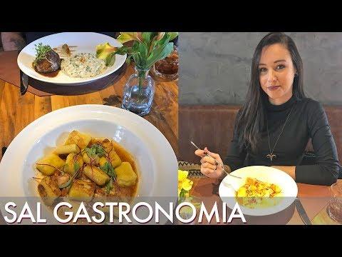 Restaurante SAL Gastronomia do chef Fogaça - Segredinhos #Vlog