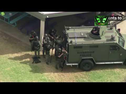 Castle View Elementary School Hostage Situation Barricades In Riverside   LA