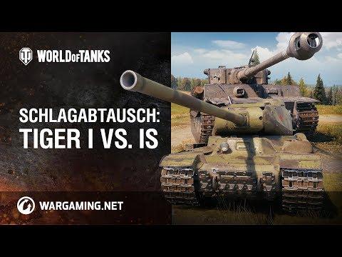 Schlagabtausch: Tiger I Vs. IS [World Of Tanks Deutsch]