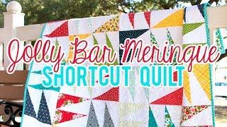 Jolly Bar Meringue | Shortcut Quilt | Fat Quarter Shop