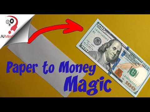 is money made out of paper