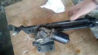 Ремонт моторчика стеклоочистителя hyundai  matrix(accent)
