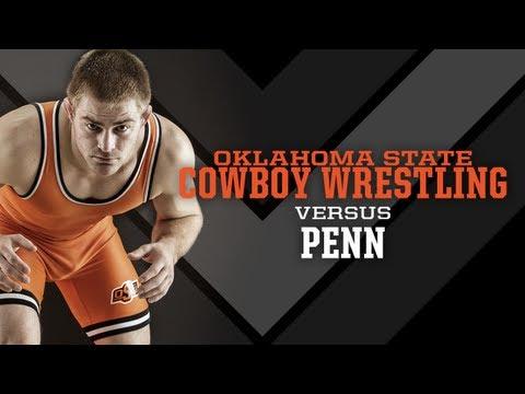 #3 Oklahoma State vs. Penn - 2012-13 Wrestling Highlights