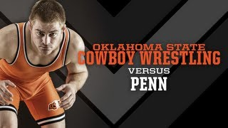 #3 Oklahoma State vs. Penn - 2012-13 Wrestling Highlights