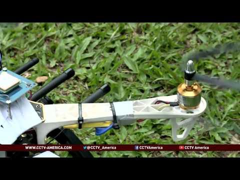 Ugandan student develops a drone to improve farming