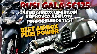 Rusi Gala SC125 |24mm Airbox |…
