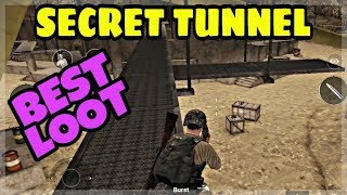 PUBG MOBILE SECRET TUNNEL FOR BEST LOOT IN MIRAMAR MAP | HIDDEN MINE LOCATION IN PUBG MOBILE