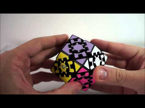 Gear Rhombic dodecahedron ou Gear Change Tutorial (PT-BR)  parte 1