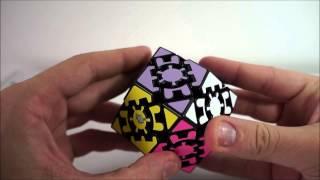 Como resolver o Gear Rhombic dodecahedron parte 1