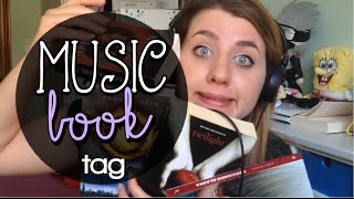 Music Book Tag   nao collab. Chiara LC e Alice LoveBooks
