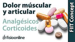 Antiinflamatorios, analgésicos y corticoides para dolor de espalda, muscular y articular