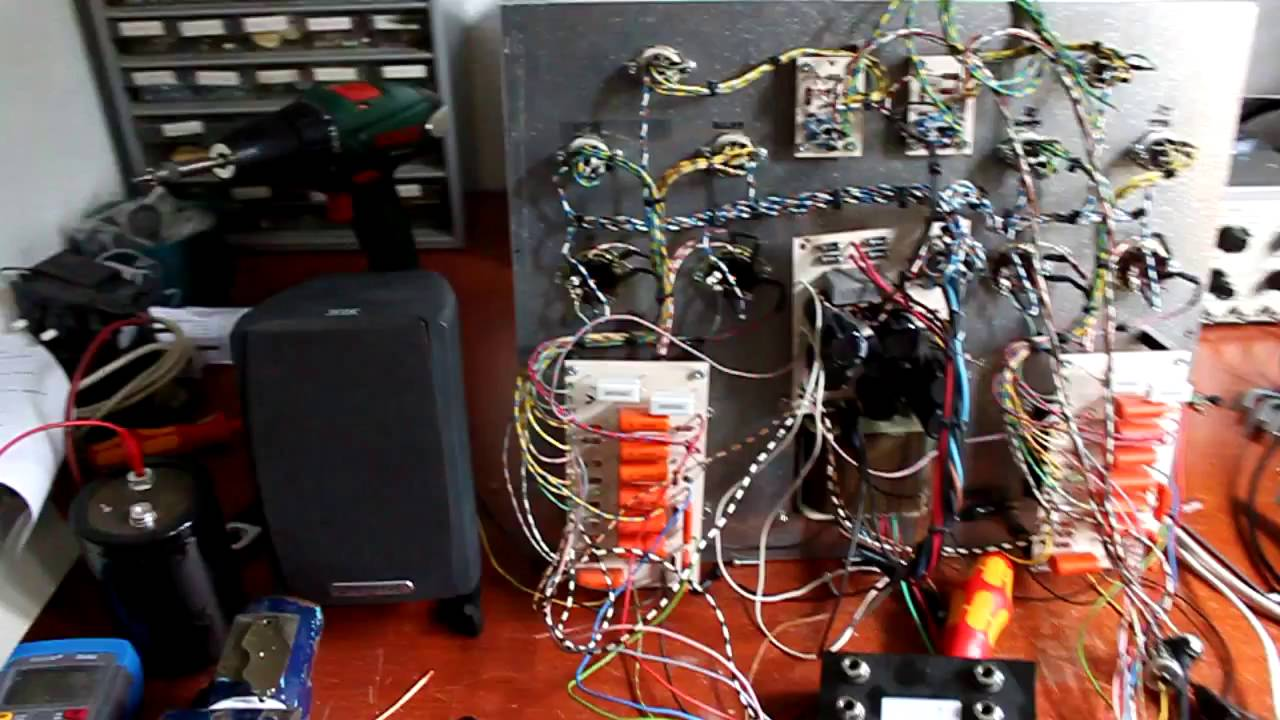 2x30W EL34 tube amplifier | Kaizer Power Electronics