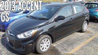2013 HYUNDAI ACCENT GS Review Engine Start Up