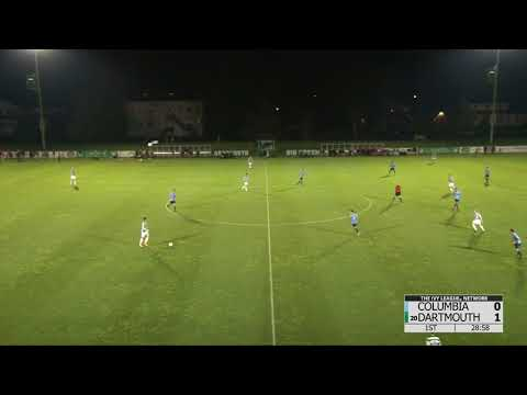 Dartmouth Mens Soccer Highlights vs Columbia 10.21.17
