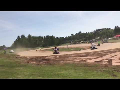 2 stroke go karts at rice lake speedway
