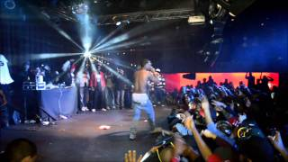 """(EXCLUSIVE VIDEO) Lil B Performs """"I'm God"""" LIVE + BF SACRIFICES HIS GIRL ON STAGE!!!"""
