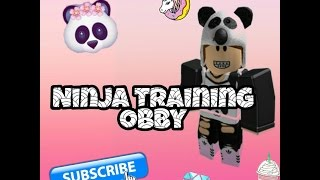 Ninja Roblox Training