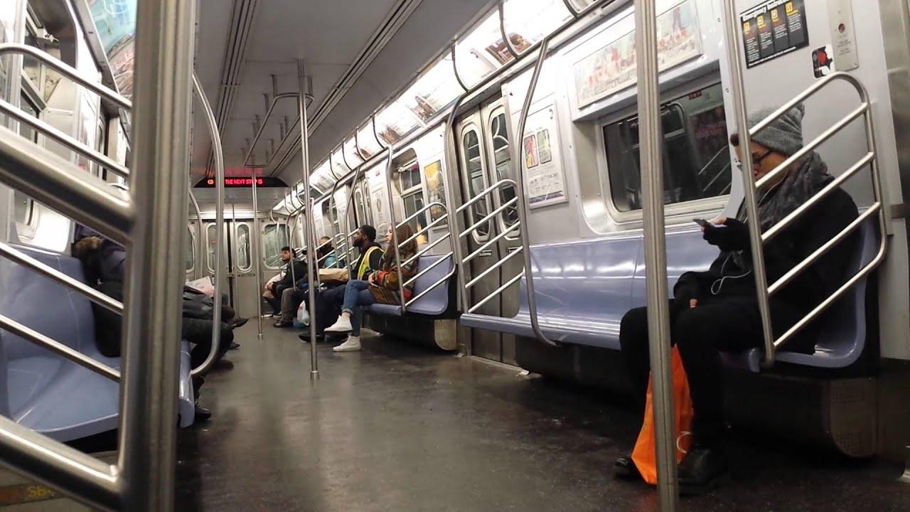 BMT Subway Ride: Broadway Junction Bound R160A (J) Train ...