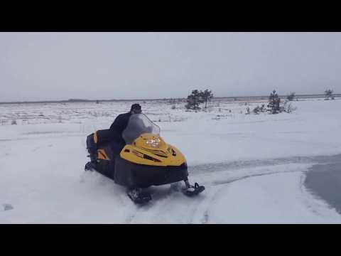 Покатушки на снегоходе Тайга 550