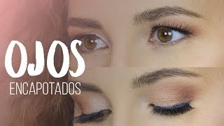 Maquillaje para ojos encapotados / encapuchados