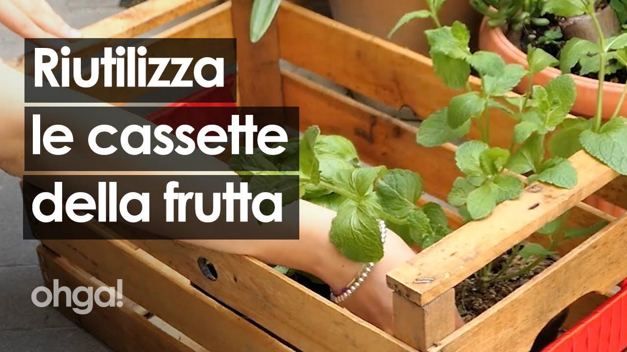 Ben noto Cassette della frutta: come riutilizzarle in modo creativo! - YouTube SH18