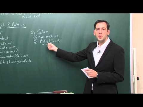 GOSPEL LETTER (8)  -  WHEN IS GOD'S AUTHORITY REVEALED?