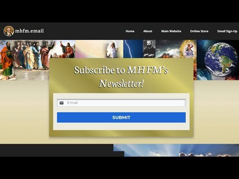 SIGN UP FOR OUR E-MAIL LIST TO SEE FUTURE VATICANCATHOLIC.COM VIDEOS
