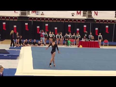 Hailey Steinke - Level 5 Floor Routine 8.175 - Williams Center Santa Invitational Meet