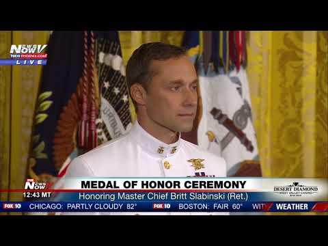 MEDAL OF HONOR: President Trump Awards Highest Honor To Navy Seal Veteran