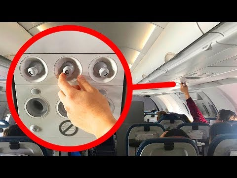在飛機上要打開你的出風口, 以及其它八個有用的旅行小妙招