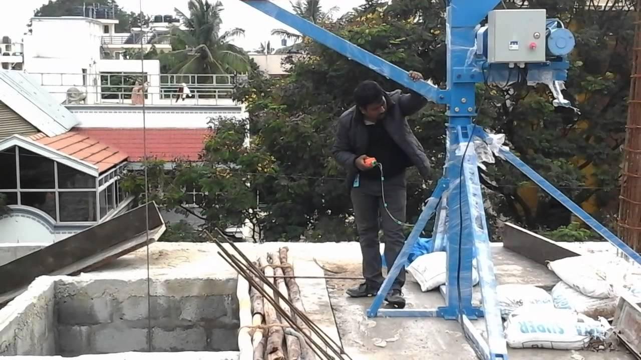 Builder S Hoist Construction Material Lifting Equipment