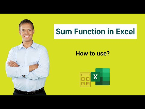 SUM Function in Excel (Formula,Examples) | How to Use SUM in